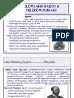BAB 1. Gelombang Radio & Telekomunikasi
