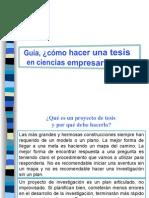 Guia ¿cómo puedo hacer el proyecto de invest.