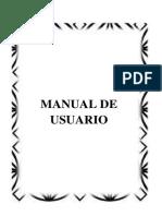Manual de Usuario Gestion Pedidos