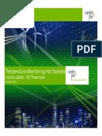 Landis+Gyr_SENSITIVE UTILITY INFORMATION_Smart Meter Temperature Monitoring Hot Sockets_October 2013