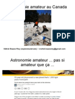 Astronomy outreach - French