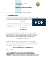 FIQT - Labo FisicoQuimica 1 - N°2 - Entalpía de Una Reacción Química