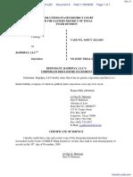 AdvanceMe Inc v. RapidPay LLC - Document No. 6