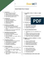 Guía de Estudio Tercer Certamen RESUELTA