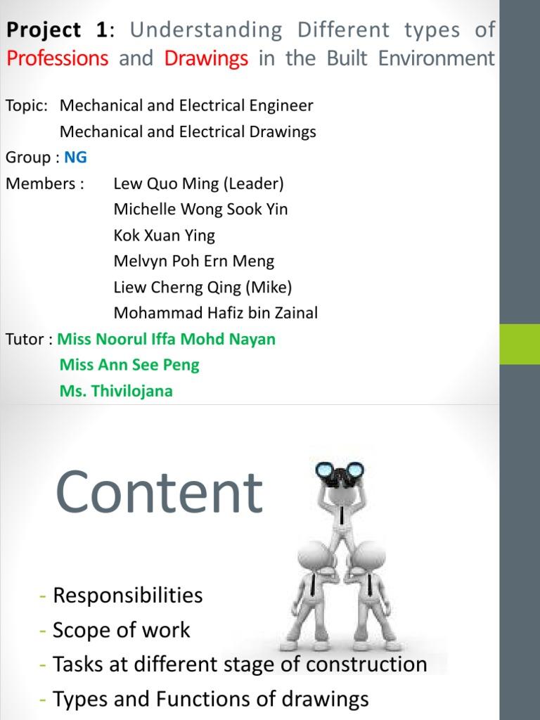 project 1 m&e | Hvac | Mechanical Engineering