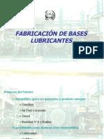 Fabricación de Bases Lubricantes