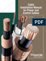 Cable Installation Manual for Power and Control Cables
