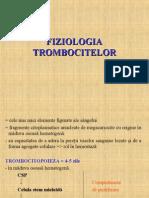 Fiziologia Trombocitelor