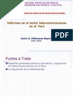 Las reformas en el sector de las telecomunicaciobes en el Perú.ppt