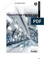 Profilo TyssenKrupp Elevator Italia