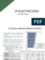 Sector Electricidad en Peru