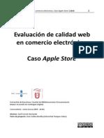 Memoria TFE Calidad en Comercio Electronico Caso Apple Store 14062010