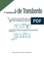 Solucion Laboratorio 07 - Modelos de Transbordo
