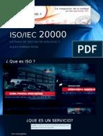 Presentacion ISO 20000