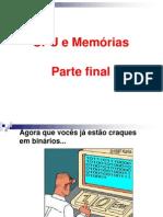 CPU e Memórias  2015
