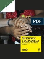 Enfrentarse a Una Pesadilla La-Desaparición de-personas en México