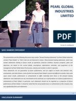 Financial Presentation [Company Update]