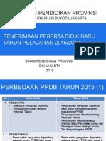 PAPARAN PPDB 2015