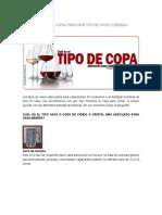 CLASES DE VASOS Y COPAS PARA CADA TIPO DE VINOS O BEBIDAS.docx