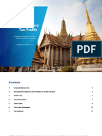Thailand Taxation