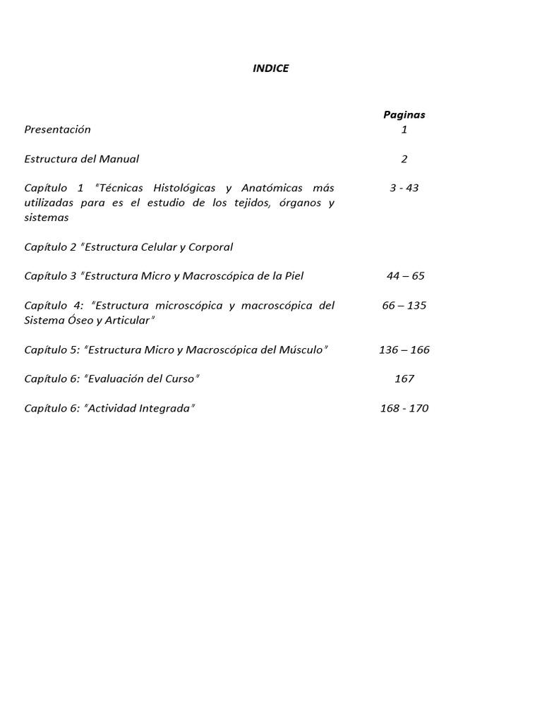 Excepcional Capítulo 3 Células Y Tejidos Anatomía Y Fisiología ...