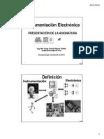 Instrumentación Electronica CL1