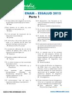 Bancazo ENAM - ESSALUD 2013 Parte 1
