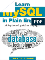 Learn MySQL in Plain English - Trevor Page