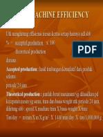Paper Machine Efficiency