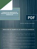 Conceptos Básicos de Preparacion Mecanica de Minerales