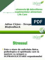 Ameliorarea Stressului Si Detoxifierea Cu Ajutorul Suplimentelor Alimentare Life Care