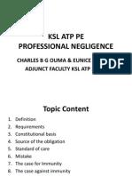 KSL ATP 2013 PE Topic 14  Professional Negligence.pdf