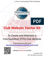 Starter Kit for FTH Club Website - 2015 06