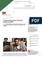 11 Maneras de Acabar El Vicio de Revisar El Celular, Tips - Semana
