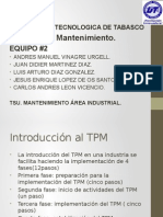 mantenimiento productivo total