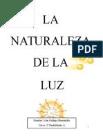 La Naturaleza de La Luz
