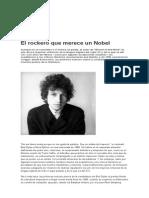 Bob Dylan El Rockero Que Merece Un Nobel