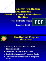 06-12-07 Fire Hydrant Presentation - Final