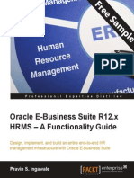 Oracle E-Business Suite R12.x HRMS – A Functionality Guide - Sample Chapter