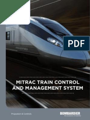 BT MITRAC Train Control and Management System Bro En   Train