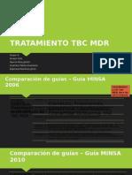 TBC MDR