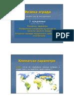 02-klimatski uticaji_ARHITEKTONSKA FIZIKA_predavanje_Arhitektonski fakultet u Beogradu