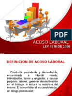 Conferencia de Acoso Laboral