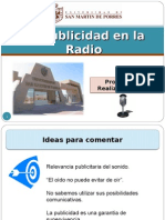 Publicidad Radial