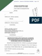 Silvers v. Google, Inc. - Document No. 53
