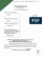 Silvers v. Google, Inc. - Document No. 54