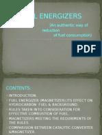 Fuel Energizer Ppt