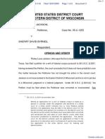 Jackson v. Byrnes - Document No. 3