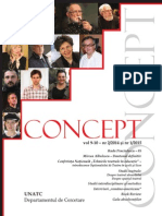 Concept vol. 9-10 nr. 2/2014 si nr. 1/2015