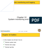 Chapter 10 System Monitoring n Logging